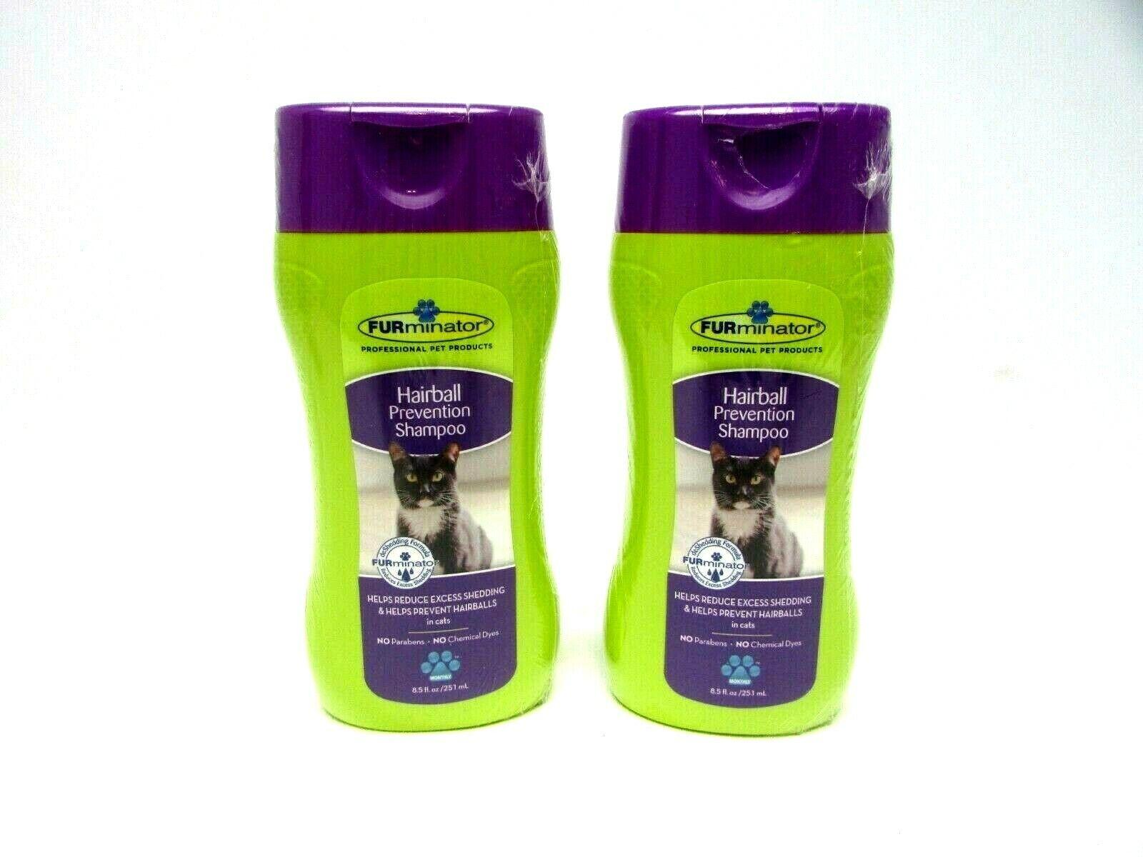 FURminator Professional Cat Hairball Prevention Shedding Sha