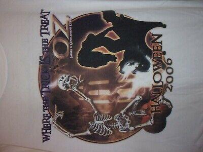 Halloween Club Nights (OZ Gentleman's Night Club Florida Halloween 06 white XL t)