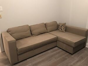 Sofa bed, L shaped couch
