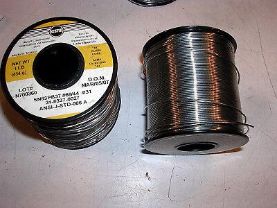 Kester 6644 .031 Soldering Wire 1 L Roll Rosin Core .031 Dia