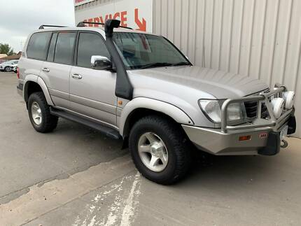 2001 Toyota Landcruiser GXV FACTORY 4.2 LITRE TURBO DIESEL AUTO Horsham Horsham Area Preview