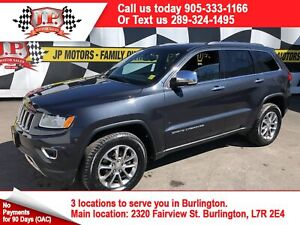 2015 Jeep Grand Cherokee Limited, Automatic, Back Up Camera, 4x4