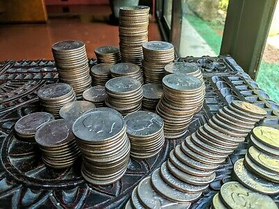 Ten (10) Eisenhower 'Ike' Dollar Coins - $10 FV Mixed Date Collectible Coin Lot