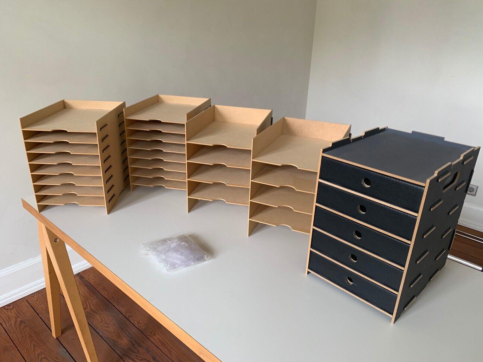 Werkhaus 4 Sorter (Ablagefächer) + 1 Archivbox | MDF
