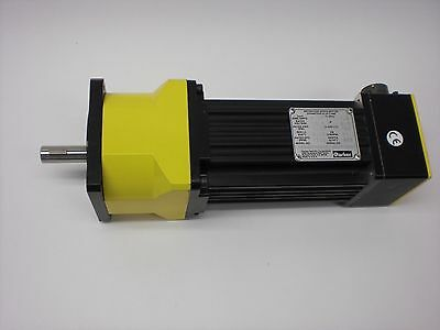 Parker Brushless Servo Motor 71 Gearhead 0.5in Shaft 7500 Rpm 1kw 12.5v