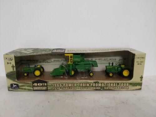 1/64  40th Anniversary John Deere Power Train Tractor Set 95 combine