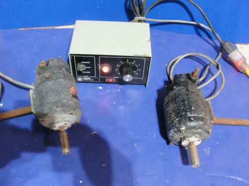 Mod 143 Fisher Dyna mix lab controller two mixer motor variable speed reversible