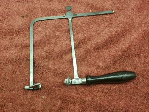 """Vintage GFC Jewelers Saw, 5-3/4"""" Throat Clearance, Made in Germany #1"""