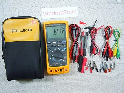 Fluke 789 Processmeter Kit With Lots Of Accessories Fluke Storage Case-15714.
