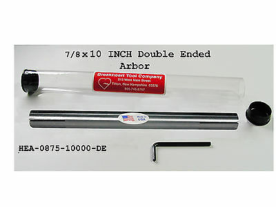 78 X 10 Expanding Arbor Mandrel Double Ended -american Made