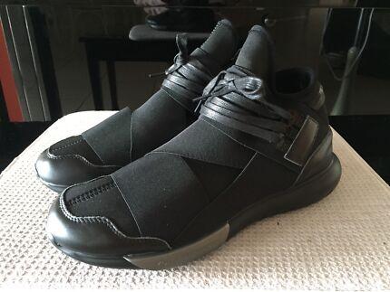 Y-3 Qasa High Triple Black Reps