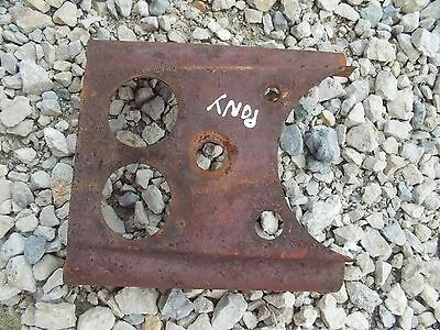 Massey Harris Mh Pony Tractor Dash Panel Gauge Holder To Tractor