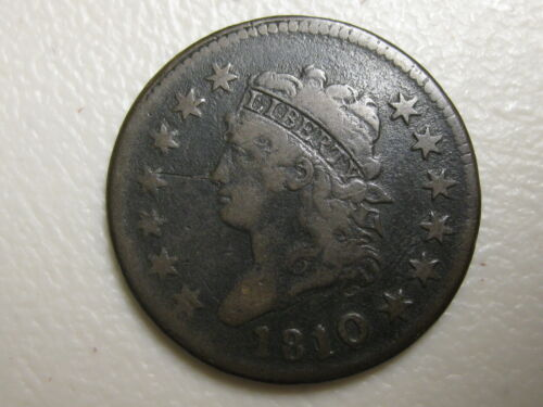1810/9 Large Cent - Classic Head - VG