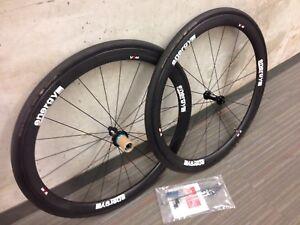 Carbon Tubular Wheelset - EnergyLab VC40