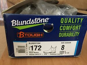 Blundstone Steel Cap Safety Boots (brown) Lynwood Canning Area Preview