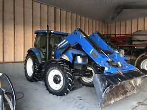 New holland t6030 loader tractor