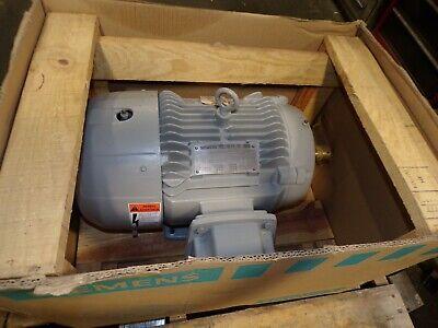 New Siemens 10 Hp Ac Electric Motor 215t Frame 208-230460 Vac 3600 Rpm Tefc