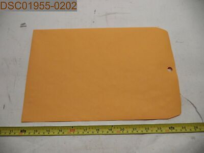 Qty 100 Office Impressions Kraft Clasp Envelopes 9x12 Brown 042167823023