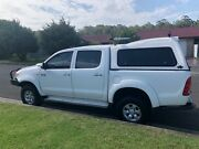 Hilux 2007 sr5 Manual dual cab and canopy Shellharbour Shellharbour Area Preview