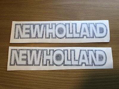 New Holland Loader Sticker 11 Set Of 2 Compact Tractor Tc35 Tc21 Tc30 Tc40