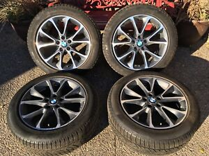 "19"" BMW X5 F15 wheel and winter tire package"