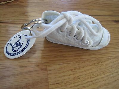 Key Chain Canvas Sneaker High Top Classic Sports Network Following Footsteps