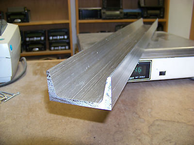 3 Aluminum Channel 6061 T6 3 X 1.5 X .258 Web American Standard X 42.75