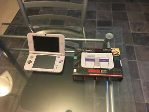 New Nintendo 3ds xl with box mint shape.  189$