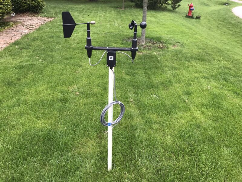 R. M. Young Wind Sentry Anemometer and Vane - Model 03002V