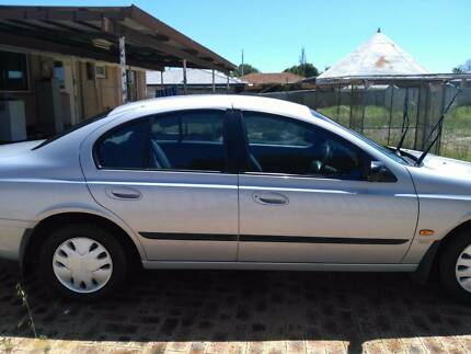 1999 Ford Falcon Silver Automatic Sedan