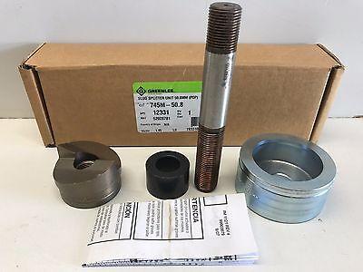 New In Box Greenlee Slug Splitter Kit 50.8mm 745m-50.8