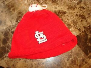 ST LOUIS CARDINALS     BABY BEANIE KNIT 'INFANT'  NEWEERA  HAT CAP TOQUE SKULL