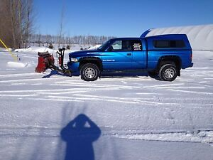 2000 Dodge Ram Sport 2500 with plow and top