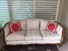 Antique reproduction sofa - french provincial style Mosman Mosman Area Preview