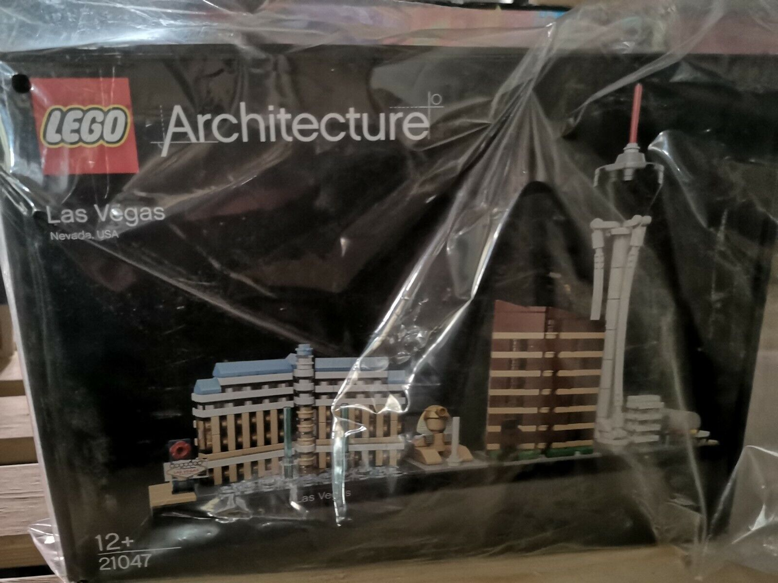 Lego Architecture 21047 Las Vegas Las Vegas Baukästen unvollständig SO