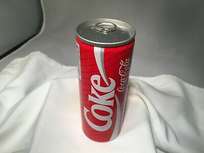 VINTAGE JAPANESE COCA COLA COKE CAN JAPAN UNOPENED TALL THIN PULL TAB JAS