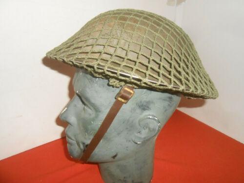BRITISH ARMY* : WWII 1941 STEEL HELMET 1941 WWII used,,
