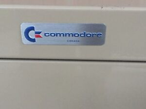 Commodore 64 2-drawer filing cabinet