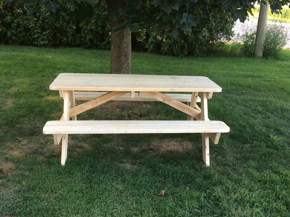 Spruce Picnic Table Patio Garden Furniture Norfolk County - Spruce picnic table