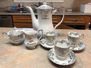 25th Anniversary Tea Cup Set