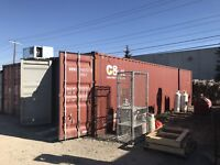 Used 40ft High Cube Sea C Can Container Wind and Water Tight Calgary Alberta Preview