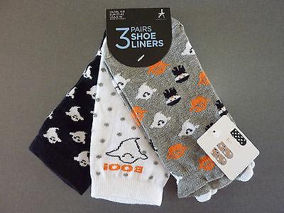 3 Paar Damen Socken Halloween Lustige Strümpfe Kürbis Gespenst 37-42 Primark (Halloween Socken)