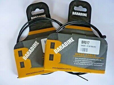 2 x CABLE FREIN VTT TEFLON BARADINE MTB INNER CABLE *HIGH QUALITY*