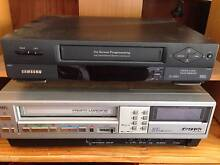 Analogue VCRs Farrer Woden Valley Preview