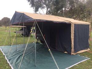 Off-road Soft Floor Camper Trailer Mount Nathan Gold Coast West Preview