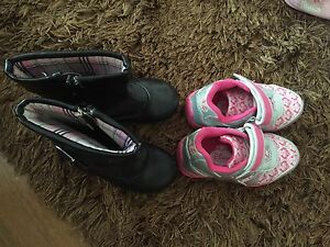 Light up Disney toddler shoes and black boots size 6 Upper Coomera Gold Coast North Preview