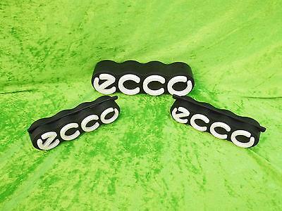 3 x ECCO Schuhe Werbung Gummi Werbeträger 22 x 6 cm, 2 x 16 x 4 cm Ecco Schilder