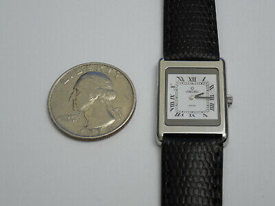 CONCORD SOLID STEEL ULTRA THIN 3MM DELIRIUM 19MM DRESS WATCH for sale  Shipping to India