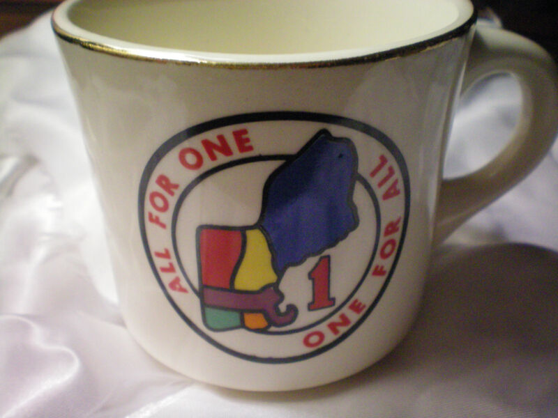 ALL FOR ONE  ONE FOR ALL Coffee MUG for Decoration