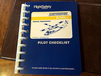 Sikorsky S-76C++  Pilot's Checklist Normal Procedures Manual